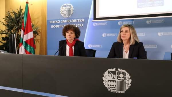 Sonia Díaz Corcuera y María Jesús Iturralde