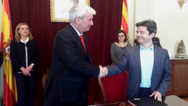 Acuerdo entre el Ministerio del Interior y el Ayuntamiento de Huesca
