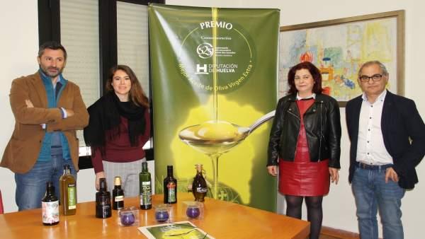 Cata para fallar el V Premio Al Mejor Aove de la provincia de Huelva.