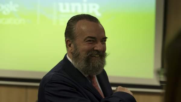 El vicerrector Innovación UNIR, Javier Tourón