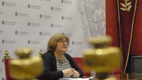 La concejal de Presidencia y Empleo de Granada, Ana Muñoz