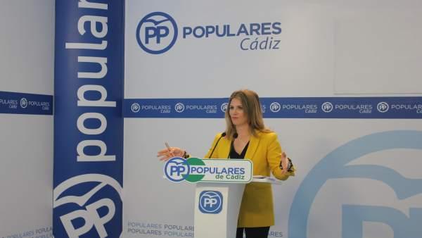 La parlamentaria popular, Ana Mestre