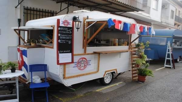 Una 'food truck' en Valencia
