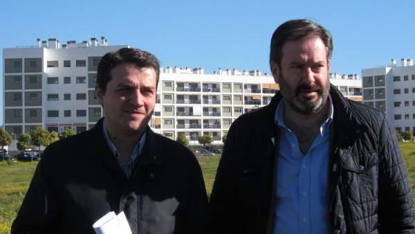 José María Bellido Con Adolfo Molina