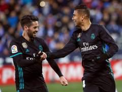 El Real Madrid se toma la revancha ante el Leganés y se pone tercero en la Liga