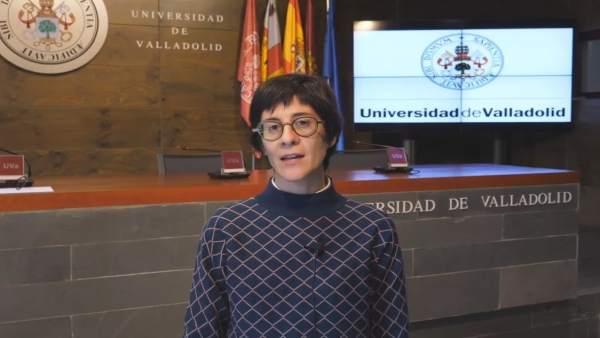 La investigadora de la UVA Elisa Guerra