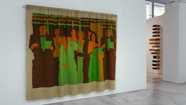 Beatriz González. Decoración de interiores, 1981