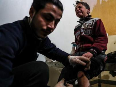 Bombardeos en Guta Oriental, Siria