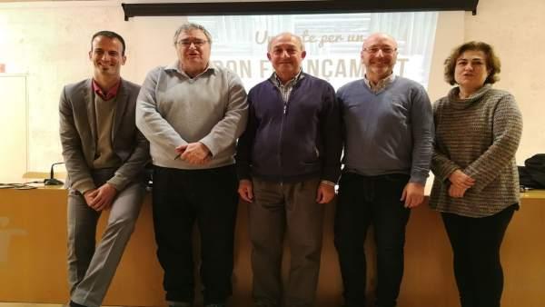Presentación Grupo Promotor buena financiación en Inca