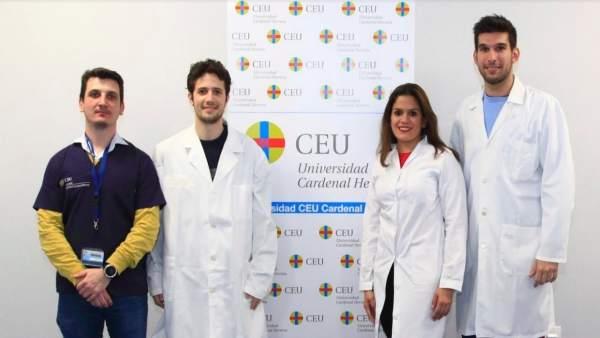 Investigadores del CEU