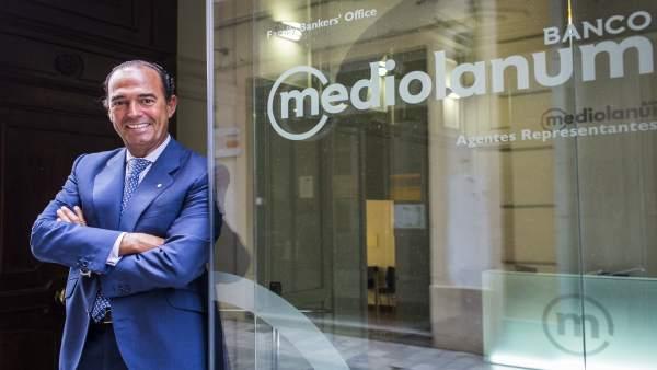 Joaquín Maldonado, responsable de Banco Mediolanum en la Comunitat