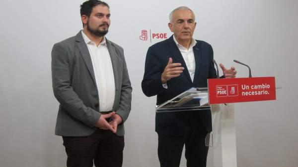 Martínez Baños y Mario Cervera hablan sobre inundaciones