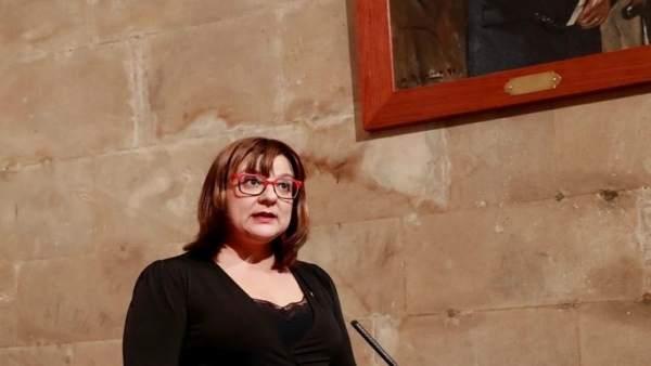 Bel Busquets promete el cargo de vicepresidenta del Govern balear
