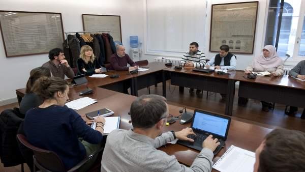 Reunión entre el Gobierno de Navarra y comunidades islámicas