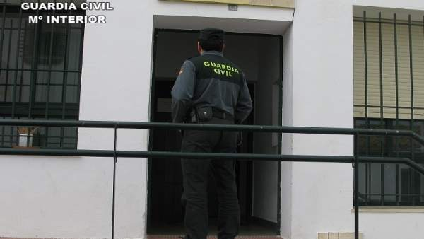 Cuartel de la Guardia Civil de Cartaya.