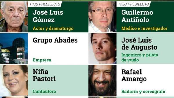Medallas de Andalucía 2018