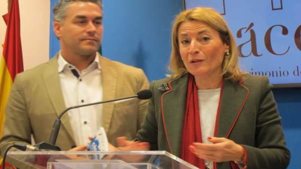 Elena Nevado, alcaldesa de Cáceres