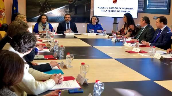 Constitución del Consejo Asesor de Vivienda de la Región de Murcia