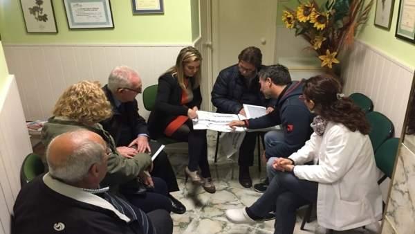 La alcaldesa de Alcalá mantendrá nuevas reuniones con vecinos y comerciantes.