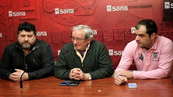 Ricardo Martínez, Jesús Bárez y Sergio Izquierdo