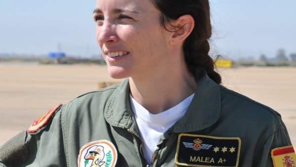 La capitán Rosa García-Malea