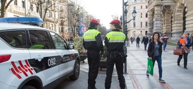 Policía municipal de Bilbao.