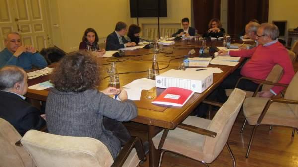 Sesión de la Comisión Valladolid Alta Velocidad