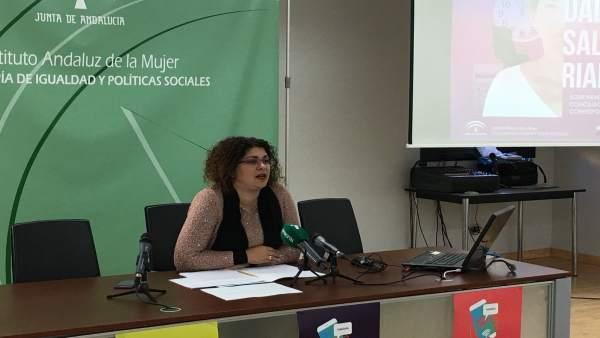 La coordinadora del IAM de Huelva, Eva Salazar.