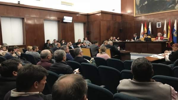 Pleno del Ayuntamiento de Santander de febrero de 2018