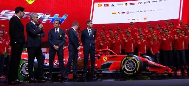 Ferrari presenta el SF71H, el coche nacido para derrotar al Mercedes