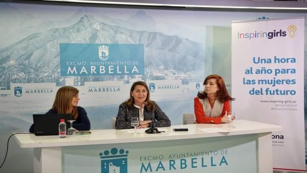 Ayuntamiento de Marbella colaborará con la Fundación Inspiring Girl