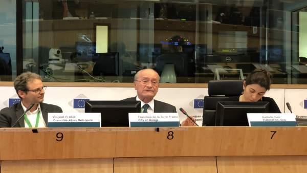 De la Torre interviene en Bruselas en la reunión del Pacto de Alcaldes