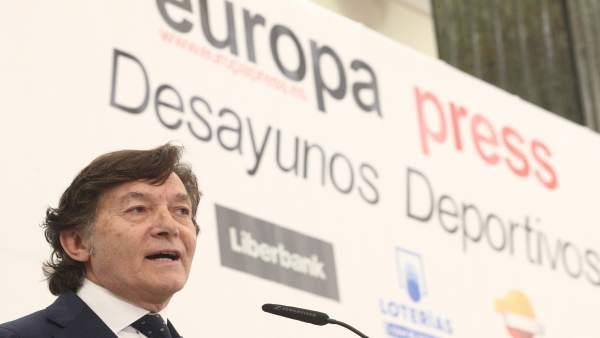 Desayuno Deportivo de Europa Press con José Ramón Lete