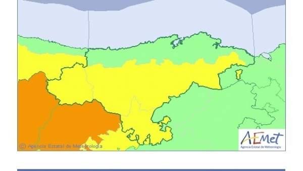Cantabria en riesgo por bajas temperaturas