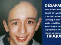 Los Mossos buscan a un menor desaparecido en Barcelona