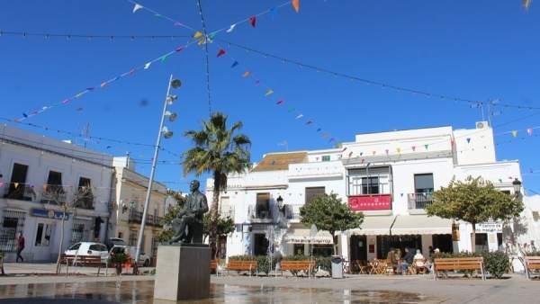 Plaza del  Cabildo de Moguer