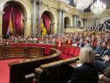 Pleno de constitución del Parlament de la XII Legislatura.