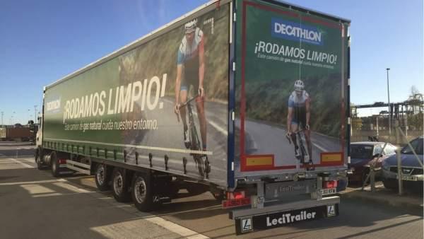 Camiones de Decathlon