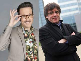 Puigdemont y Joaquín Reyes