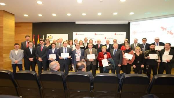 Cruz Roja Española En Castilla Y León Reconoce El Compromiso De 21 Empresas Que