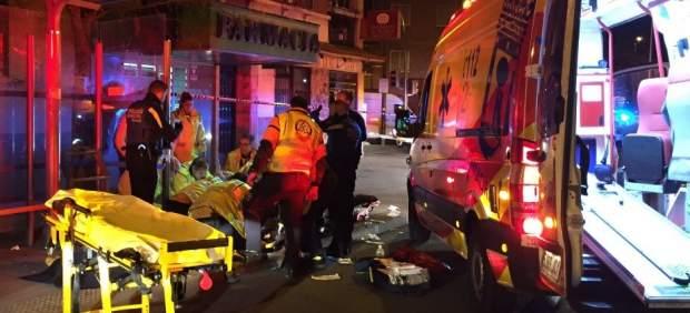 Heridos De Arma Blanca Dos Hombres Durante Una Reyerta En Carabanchel