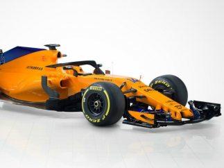 McLaren presenta el MCL33