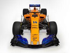 McLaren presenta el coche de Fernando Alonso para el Mundial de 2018