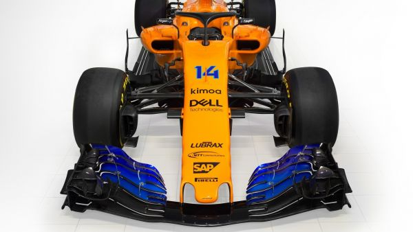 Frontal del McLaren MCL33