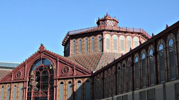 Una parte del conocido Mercado de Sant Antoni.