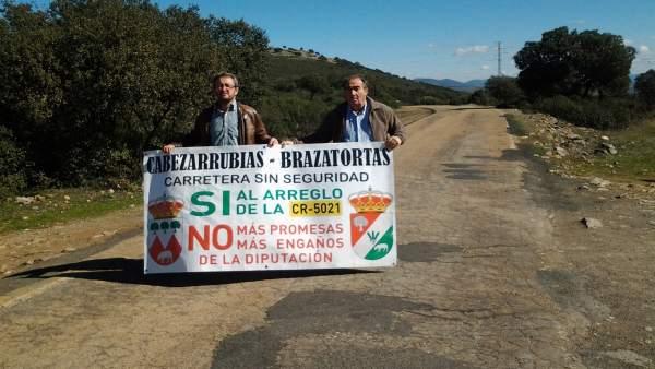 Alcaldes de Brazatortas y Cabezarrubias