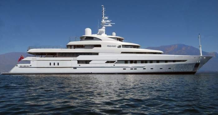 Construido en 2011. El barco original se contruyó en 2011 y se llamaba Pegaso. En su momento fue el buque oceanográfico más lujoso del mundo.