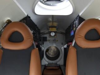 Interior del submarino
