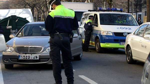 Control de la Policía Municipal.
