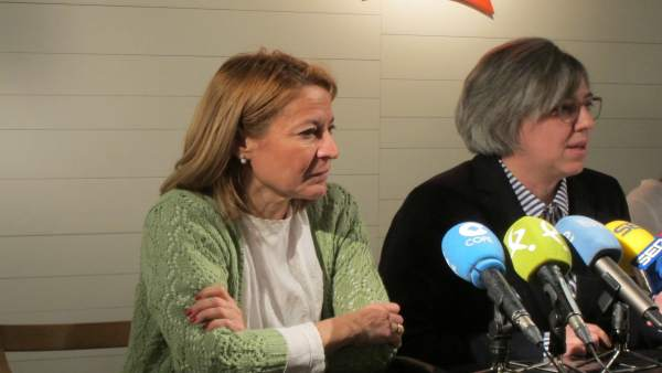 Elena Nevado y Leire Iglesias